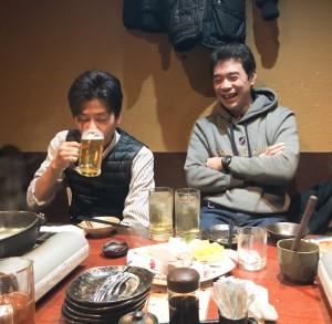 竹中さんと佐川さん